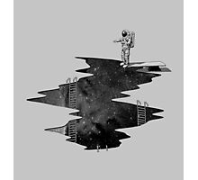 Space Diving Photographic Print
