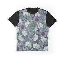 Floral blue Graphic T-Shirt