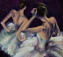 Ballerinas by dorina costras
