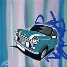 Mini Stripes 01 Painting by Richard Yeomans
