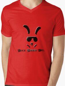 DRabbitP Mens V-Neck T-Shirt