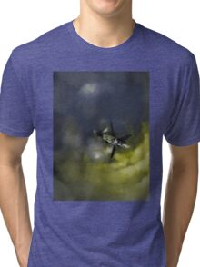 Stranded Space Craft Painting Tri-blend T-Shirt