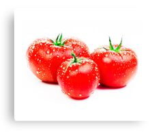 fresh tomato Canvas Print