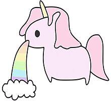 --unicorn- Photographic Print