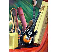 Steve's Guitars Photographic Print