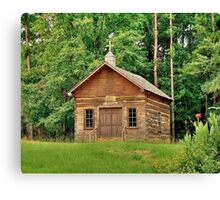 Little Country Church Canvas Print
