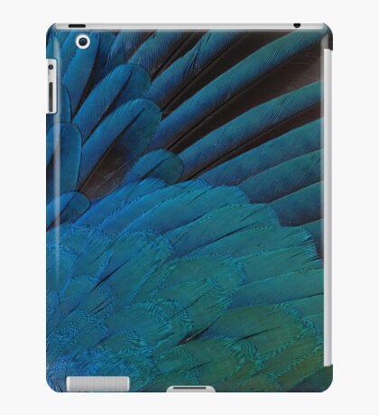 Iridescence in feathers iPad Case/Skin