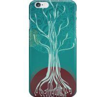 Teal Tree iPhone Case/Skin