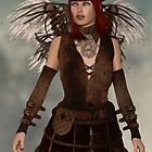 Steampunk Angel by Liam Liberty