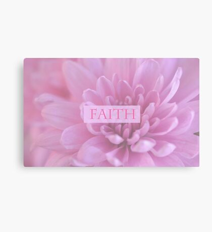 Faith In Pink  Canvas Print