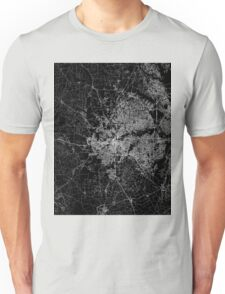 Fort Worth map Texas Unisex T-Shirt