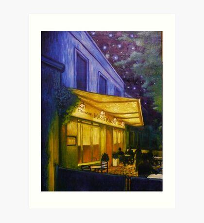 Matersons Steakhouse Art Print