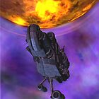Nebula, Planets & Spaceships 04 by VMDolphin