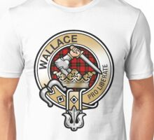 Wallace Clan Crest Unisex T-Shirt