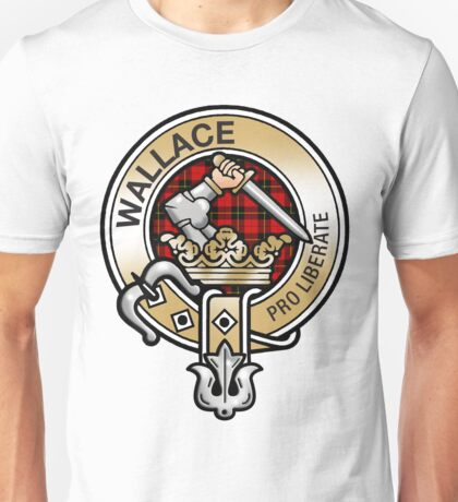 Wallace Clan Crest Unisex T-Shirt