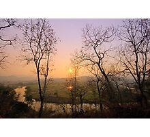 "Sunset at ""Pai"" river Photographic Print"