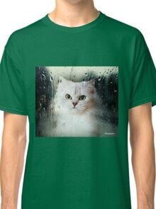 Mistletoe Through The Window Classic T-Shirt