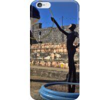 Dismaland - Killer Whale Jumping through a Hoop iPhone Case/Skin