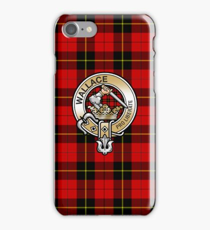 Wallace Clan Crest iPhone Case/Skin