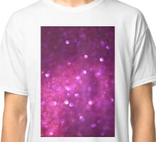 Pink Glitter Classic T-Shirt