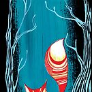 Woodland Fox by Zsuzsa Goodyer