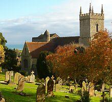 St. Leonard  Church . Hythe    /2  by Antoinette B