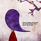 purple cherry tree by Nadine Feghaly