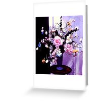 """Pink Roses""© Greeting Card"