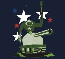 Green  Tankster Kids Tee