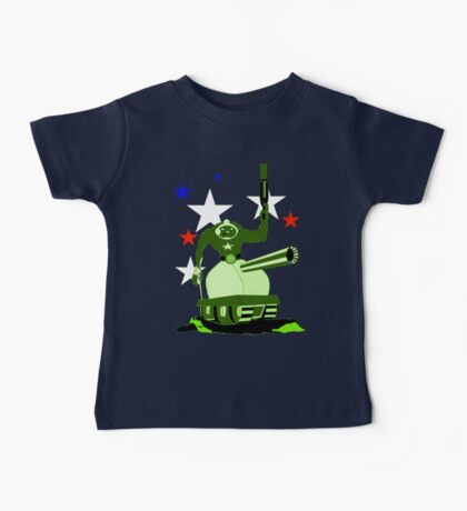 Green  Tankster Baby Tee