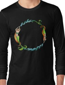 Mermaid Circle Long Sleeve T-Shirt