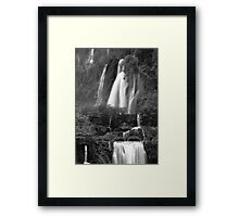Thee Lor Sue Waterfall  Framed Print
