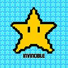 invincible mario star  by kennypepermans
