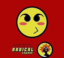 Radical Edward Big Pout - (iPad) by Adam Angold