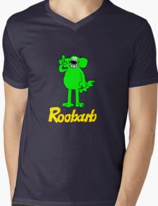 Roobarb Mens V-Neck T-Shirt