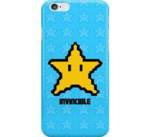 invincible mario star  iPhone Case/Skin