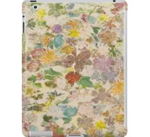 Pressed flower ipad iPad Case/Skin