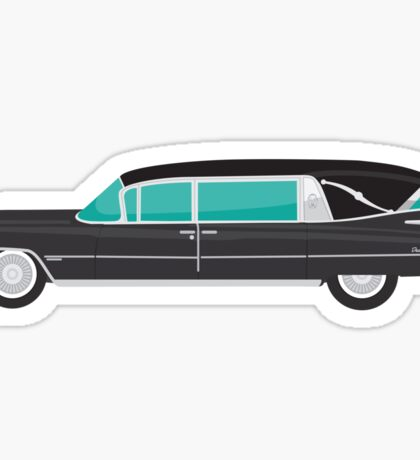 1959 Cadillac Hearse Sticker