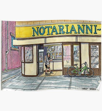 Notarianni's ice cream parlour Poster