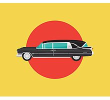 1959 Cadillac Hearse Photographic Print