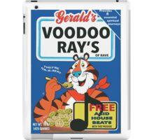 VOODOO RAY'S CEREAL BOX iPad Case/Skin