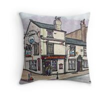 lifeboat inn Throw Pillow