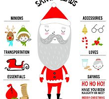 Santa Claus and His Essentials by Holly Hatam