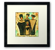 We Women 4 - Suede Version Framed Print