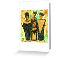We Women 4 - Suede Version Greeting Card