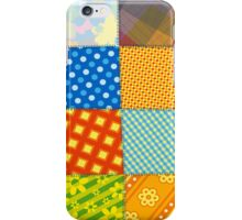 Colorful Retro Sewed Stitching Pattern iPad Case / iPhone 5 / iPhone 4 Case / Samsung Galaxy Cases  iPhone Case/Skin