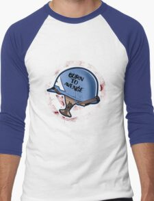 Born to Avenge Men's Baseball ¾ T-Shirt
