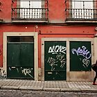 Graffiti Street by Ursula Rodgers