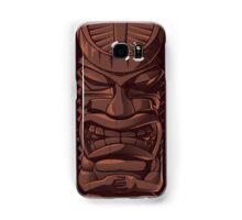 Wooden Tiki Statue Totem Sculpture iPhone 5 / iPhone 4 Case / Samsung Galaxy Cases  Samsung Galaxy Case/Skin