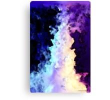 Into The Night Purple Art Canvas Print
